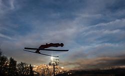 06.01.2014, Paul Ausserleitner Schanze, Bischofshofen, AUT, FIS Ski Sprung Weltcup, 62. Vierschanzentournee, Probesprung, im Bild Andreas Wank (GER) // Andreas Wank (GER) during Trial Jump of 62nd Four Hills Tournament of FIS Ski Jumping World Cup at the Paul Ausserleitner Schanze, Bischofshofen, Austria on 2014/01/06. EXPA Pictures © 2014, PhotoCredit: EXPA/ JFK