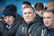 Owen Coyle (Manager) (Blackburn Rovers) before the EFL Sky Bet Championship match between Rotherham United and Blackburn Rovers at the AESSEAL New York Stadium, Rotherham, England on 11 February 2017. Photo by Mark P Doherty.