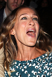 Sarah Jessica Parker in the front row at the Diane Von Furstenberg show  at  New York Fashion Week  Sunday, 9th September 2012. Photo by: Stephen Lock / i-Images