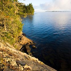 Lily Bay in Moosehead Lake from Sugar Island Maine USA