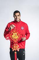 **EXCLUSIVE**Portrait of Brazilian soccer player Alan Kardec of Chongqing Dangdai Lifan F.C. SWM Team for the 2018 Chinese Football Association Super League, in Chongqing, China, 27 February 2018.