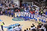 DESCRIZIONE : Campionato 2014/15 Serie A Beko Dinamo Banco di Sardegna Sassari - Grissin Bon Reggio Emilia Finale Playoff Gara4<br /> GIOCATORE : Team Dinamo Sassari<br /> CATEGORIA : Before Pregame<br /> SQUADRA : Dinamo Banco di Sardegna Sassari<br /> EVENTO : LegaBasket Serie A Beko 2014/2015<br /> GARA : Dinamo Banco di Sardegna Sassari - Grissin Bon Reggio Emilia Finale Playoff Gara4<br /> DATA : 20/06/2015<br /> SPORT : Pallacanestro <br /> AUTORE : Agenzia Ciamillo-Castoria/L.Canu