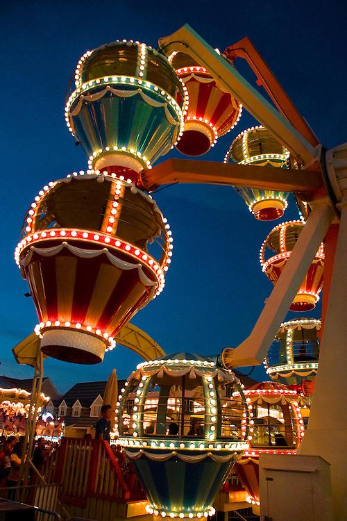 Wildwood boardwalk amusement park, Wildwood, South Jersey, NJ