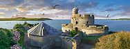 Towering Delusions -St Mawes Castel, built as part opt a defensive chain of south coast fortresses between 1540 & 1545 by King of England, Henry VIII. Near Falmouth, Cornwall, England. By Paul Williams