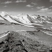 Kukri Hills, Lake Bonney and Taylor glacier from Nussbaum Riegel