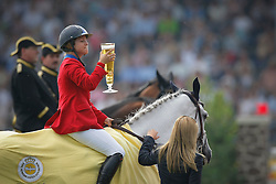 "Bond Ashlee (USA) - Cadett 7<br /> Winner of the ""Warsteiner Preis von Europa""<br /> CHIO Aachen 2009<br /> Photo © Dirk Caremans"
