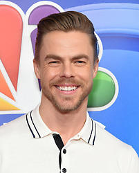 February 20, 2019 - Hollywood, California, U.S. - Derek Hough on the carpet at the NBCUniversal Mid Season Press Junket at Universal Studios. (Credit Image: © Lisa O'Connor/ZUMA Wire)