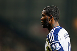 Brown Ideye of West Brom looks on - Photo mandatory by-line: Rogan Thomson/JMP - 07966 386802 - 11/02/2015 - SPORT - FOOTBALL - West Bromwich, England - The Hawthorns - West Bromwich Albion v Swansea City - Barclays Premier League.