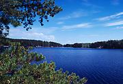 Agnes Lake, Voyageurs National Park, Minnesota.