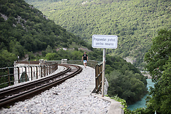 Jumping of the Solkan bridge with Dunking Devils and Mastercard, on May 17, 2017 in Solkan, Slovenia. Photo by Matic Klansek Velej / Sportida