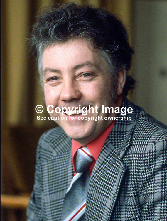 Kevin Murphy, Newry, Co Down, N Ireland, UK, executive member, SDLP, Social Democratic & Labour Party, 197811000287.<br /> <br /> Copyright Image from Victor Patterson, Belfast, UK<br /> <br /> t: +44 28 9066 1296 (from Rep of Ireland 048 9066 1296)<br /> m: +44 7802 353836<br /> e: victorpattersonbelfast@gmail.com<br /> <br /> www.images4media.com<br /> <br /> Please see my full Terms and Conditions of Use at https://www.images4media.com/p/terms-conditions - it is IMPORTANT that you familiarise yourself with them.<br /> <br /> Images used online incur an additional cost. This cost should be agreed in writing in advance. Online images must be visibly watermarked i.e. © Victor Patterson or that of the named photographer within the body of the image. The original metadata must not be deleted from images used online.<br /> <br /> This image is only available for the use of the download recipient i.e. television station, newspaper, magazine, book publisher, etc, and must not be passed on to a third party. It is also downloaded on condition that each and every usage is notified within 7 days to victorpattersonbelfast@gmail.com.<br /> <br /> The right of Victor Patterson (or the named photographer) to be identified as the author is asserted in accordance with The Copyright Designs And Patents Act (1988). All moral rights are asserted.