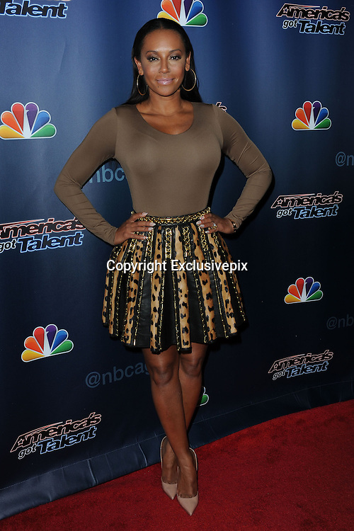 Sept. 10, 2014 - New York, NY, USA - <br /> <br /> America's Got Talent Post Show<br /> <br /> Mel B attending the 'America's Got Talent' post show red carpet at Radio City Music Hall in New York City on September 10, 2014 <br /> ©Exclusivepix