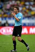 Fifa Brazil 2013 Confederation Cup / Group A Match / <br /> Japan vs Mexico 1-2  ( Mineirao Stadium - Belo Horizonte , Brazil )<br /> Felix BRYCH - Referee , gesture during the match between Japan and  Mexico