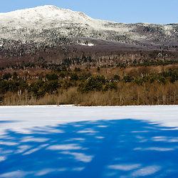 Mount Monadnock in winter as seen in Troy, New Hampshire.