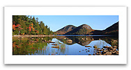 Jordan Pond in the early morning at Acadia National Park, Maine, USA
