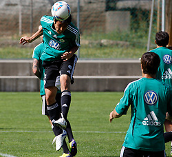 19.07.2011, Bad Kleinkirchheim, AUT, Fussball Trainingscamp VFL Wolfsburg, im Bild Makoto Hasebe , EXPA Pictures © 2011, PhotoCredit: EXPA/Oskar Hoeher