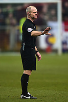 Referee Andy Woolmer<br /> <br /> Photographer Richard Martin-Roberts/CameraSport<br /> <br /> The EFL Sky Bet League One - Fleetwood Town v Blackburn Rovers - Saturday 20th January 2018 - Highbury Stadium - Fleetwood<br /> <br /> World Copyright © 2018 CameraSport. All rights reserved. 43 Linden Ave. Countesthorpe. Leicester. England. LE8 5PG - Tel: +44 (0) 116 277 4147 - admin@camerasport.com - www.camerasport.com
