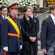 LUX/Luxemburg/20190504 -  Funeral<br /> of HRH Grand Duke Jean, Uitvaart Groothertog Jean, Prinses Alexandra <br /> en Prins Sebastian
