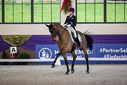 Kronberg, Gestüt Schafhof, KRONBERG _ Int. Festhallen Reitturnier Schafhof Edition 2020,<br /> <br /> RICHTER Ellen (GER), Vinay<br /> Preis der Liselott Schindling Stiftung<br /> Piaff-Förderpreis - Finale<br /> U25 Grand Prix<br /> Dressurprüfung Kl.S***<br /> <br /> 20. December 2020<br /> © www.sportfotos-lafrentz.de/Stefan Lafrentz