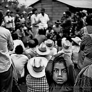 Camp for Guatemala refugees in Chiapas. Mexico.