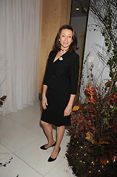 CHERIE LUNGHI at a reception before the launch of the English National Ballet Christmas season launch of The Nutcracker held at the St,Martins Lane Hotel, London on 5th December 2008.