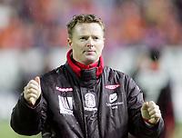 Fotball, <br /> 31.10.2010 , <br /> Tippeligaen  ,<br /> Eliteserien ,<br /> Aalesund - brann 3-1,<br /> Color line stadion ,<br /> <br /> Rune skarsfjord - brann<br /> <br /> Foto: Richard brevik , Digitalsport