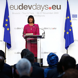 26 November 2013 - Belgium - Brussels - European Development Days - EDD - A vision for the post-2015 agenda - Portia Simpson-Miller - <br /> Prime Minister of Jamaica © European Union