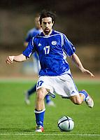 Fotball<br /> Foto: Jussi Eskola/Digitalsport<br /> NORWAY ONLY<br /> <br /> Peter Kopteff<br /> Hviterussland v Finland<br /> Paphos, Cyprus, 1.3.2006