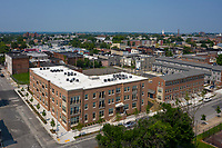 Exterior image of Marshall Gardens in Baltimore MD by Jeffrey Sauers of CPI Productions
