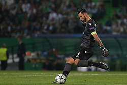 October 31, 2017 - Lisbon, Lisbon, Portugal - Sportings goalkeeper Rui Patricio from Portugal during the match between Sporting CP v Juventus FC UEFA Champions League playoff match at Estadio Jose Alvalade on October 31, 2017 in Lisbon, Portugal. (Credit Image: © Dpi/NurPhoto via ZUMA Press)