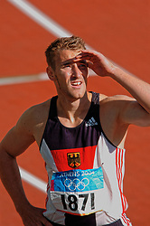 Stefan Drews GER in action during Olympics Games Athletics day 12 on August 24, 2004 in Olympic Stadion Spyridon Louis, Athens.