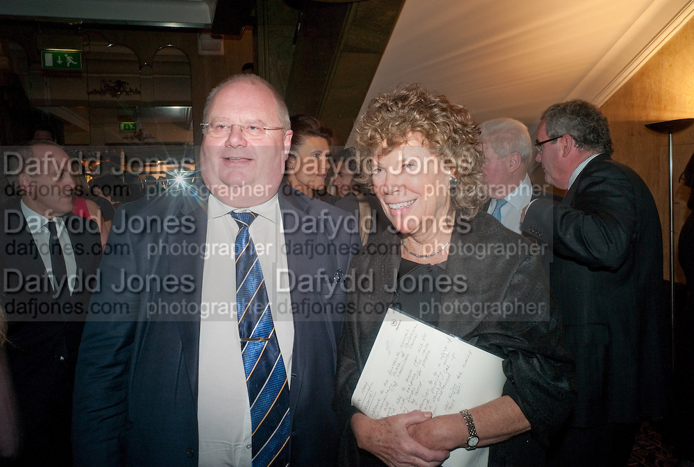 ERIC PICKLES; KATE HOEY,  House of Lords and House of Commons Parliamentary Palace of Varieties in aid of Macmillan Cancer Support. <br /> Park Lane Hotel, Piccadilly, London, 7 March 2012.