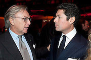 DIEGO LA VALLE,- IMG HERALD TRIBUNE HERITAGE LUXURY PARTY.- Celebration of Heritage Luxury and 10 years of the International Herald Tribune Luxury Conferences. North Audley St. London. 9 November 2010. -DO NOT ARCHIVE-© Copyright Photograph by Dafydd Jones. 248 Clapham Rd. London SW9 0PZ. Tel 0207 820 0771. www.dafjones.com.