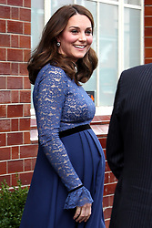 The Duchess of Cambridge departs the new head quarters of Place2Be in London.<br /><br />7 March 2018.<br /><br />Please byline: Vantagenews.com