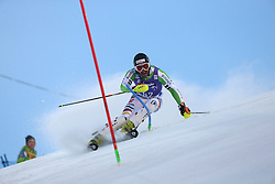 17.11.2013, Levi Black, Levi, FIN, FIS Ski Alpin Weltcup, Levi, Slalom, Herren, 1. Durchgang, im Bild Philipp Schmid (GER) // Philipp Schmid of Germany in action during 1st run of mens Slalom of FIS ski alpine world cup at the Levi Black course in Levi, Finland on 2013/11/17. EXPA Pictures © 2013, PhotoCredit: EXPA/ Gunn/ Takusagawa<br /> <br /> *****ATTENTION - OUT of GBR*****
