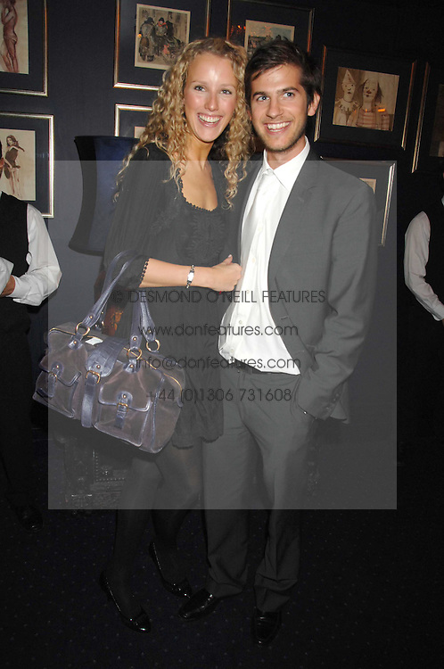 KATE MELHUISH and JACK FREUD at a party to celebrate the publication of the 2007 Tatler Little Black Book held at Tramp, 40 Jermyn Street, London on 7th November 2007.<br /><br />NON EXCLUSIVE - WORLD RIGHTS