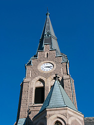 Detail of church in Lysekil town on Swedens western Bohuslan coast 2009