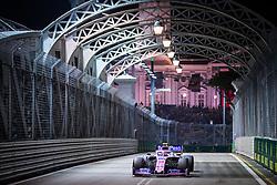 September 20, 2019, Singapore, Singapore: Motorsports: FIA Formula One World Championship 2019, Grand Prix of Singapore, .#18 Lance Stroll (CAN, Racing Point F1 Team) (Credit Image: © Hoch Zwei via ZUMA Wire)