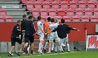 Fotball, 18. juli 2021 , Eliteserien , Brann- Mjøndalen<br /> Nikolas Walstad , MIF jubel for scoring