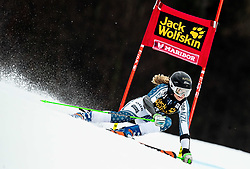 HUDSON Piera of New Zealand competes during the 6th Ladies'  GiantSlalom at 55th Golden Fox - Maribor of Audi FIS Ski World Cup 2018/19, on February 1, 2019 in Pohorje, Maribor, Slovenia. Photo by Vid Ponikvar / Sportida