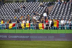 Team Belgium supporters<br /> European Championship Riesenbeck 2021<br /> © Hippo Foto - Dirk Caremans<br />  03/09/2021