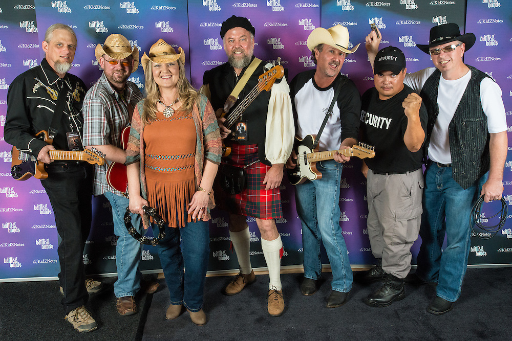 Salt Bodyne (Summit) before performing at the corporate Battle of the Bands at the American Tobacco campus in Durham, North Carolina on September 22, 2012