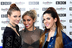 Goldstone during Eurovision: You Decide - Meet The Artists, an introduction to this year's UK hopefuls, at BBC, New Broadcasting House in London.