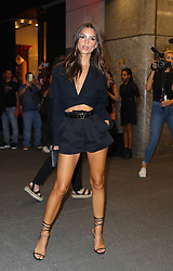 September 6, 2019, New York, New York, United States: September 5, 2019 New York City....Emily Ratajkowski attending The Daily Front Row Fashion Media Awards on September 5, 2019 in New York City  (Credit Image: © Jo Robins/Ace Pictures via ZUMA Press)