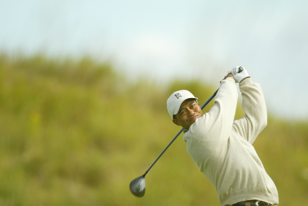 Tiger Woods..2004 PGA Championship.First Round.Whistling Straits.Haven, WI.Thursday, August 12 2004..photograph by Darren Carroll