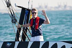 Artemis Racing (SWE) vs. All4One (GER/FRA), RR1. Both teams win one match. Dubai, United Arab Emirates, November 18th 2010. Louis Vuitton Trophy  Dubai (12 - 27 November 2010) © Sander van der Borch / Artemis Racing