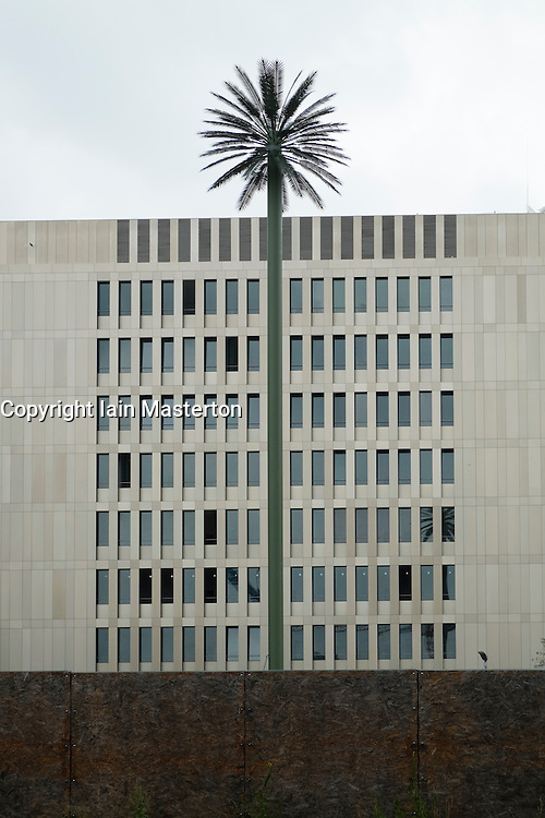 Exterior view of new headquarters of BND (Bundesnachrichtendienst) the Federal Intelligence Service of Germany in Berlin