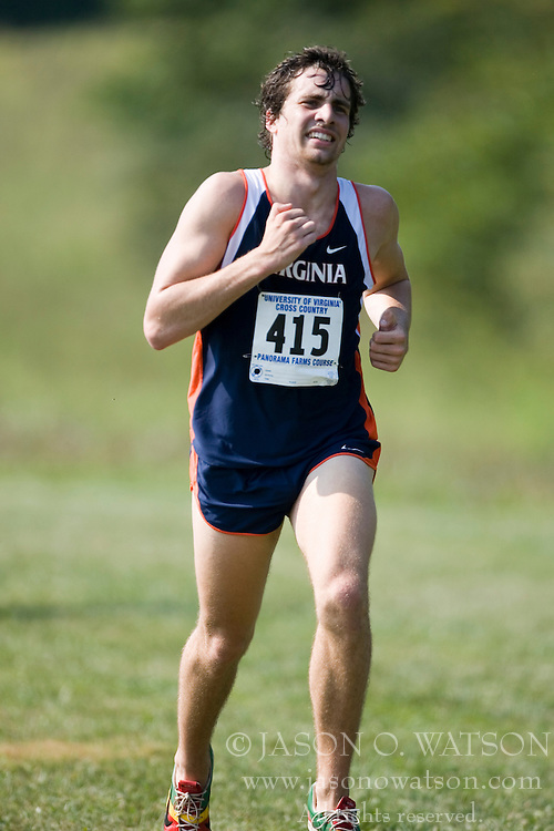 Virginia Cavaliers Kevin Tschirhart..The Virginia Cavaliers hosted the 2007 Lou Onesty Invitational Cross Country meet at Panorama Farms near Charlottesville, VA on September 7, 2007.