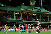General view during the 2013 AFL round 08 match between the Sydney Swans and the Fremantle Dockers at the SCG, Sydney on May 18, 2013. (Photo: Craig Golding/AFL Media)