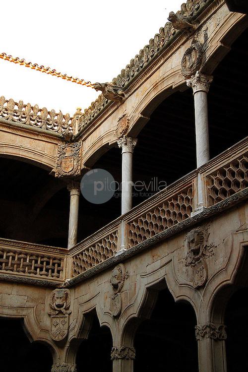 Calustro de la Casa de las Conchas. Salamanca ©Country Sessions / PILAR REVILLA